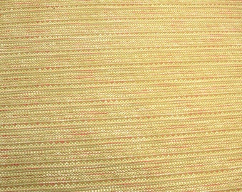 Green & Pink Chenille Upholstery Fabric