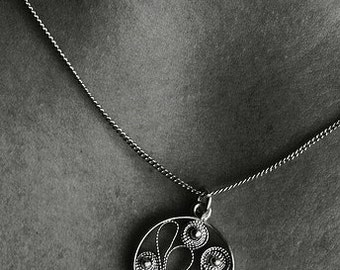 First One - Icelandic Filigree Necklace Iceland