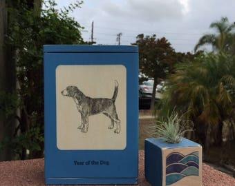 Animal Birth Box-Wood Keepsake, New Baby Gift, Baby Shower