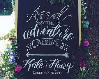 Wedding Decor Sign