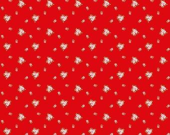 A Little Sweetness Red Vintage by Tasha Noel for Riley Blake, 1/2 yard