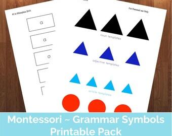 Montessori Grammar - Naming The Farm PDF | Montessori printable, Montessori Grammar Farm, home school, Montessori grammar PDF, grammar farm