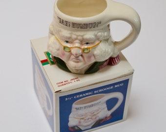 Vintage Scrooge Mug by Kurt Adler