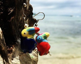 Toucans Earrings