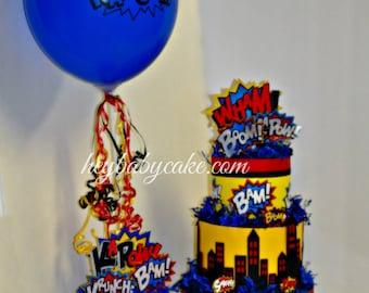 Superhero Baby Shower, Superhero Baby Shower Decorations, Superhero Shower  Decorations, Superhero Centerpieces