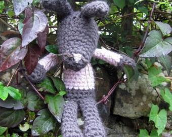 Bea - a hand crocheted bunny!