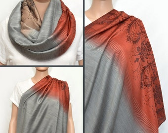 Nursing Cover - Nursing Scarf - Nursing scarf cover - Nursing  infinity scarf - Infinity scarf