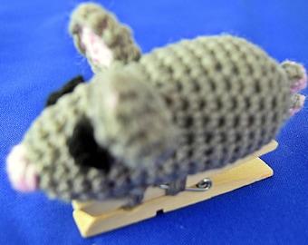 Crochet money mouse / poison brace mouse / money / mones