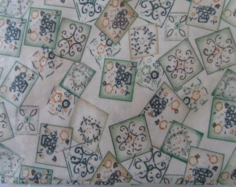 fabric - fabric for patchwork - very beautiful patterns - 100% cotton - 45 x 45 cm