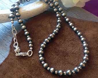 On Sale Now! Navajo Pearls Necklace Lovely Long Strand #115
