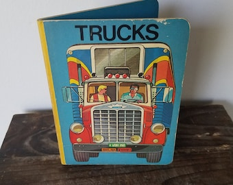 Vintage Trucks Board Book