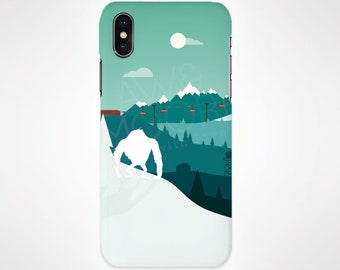 Yeti Mythical Phone Case for iPhone and Samsung, iPhone X, 8, 7, 6, 6s, Plus, 5s, 5c, Samsung, S8