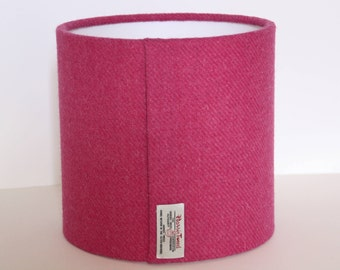 NEW! Fushia Harris Tweed Drum Lampshade/modern lampshade/ceiling lampshade/table lamp