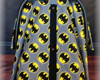 BATMAN Flannel Carseat Canopy