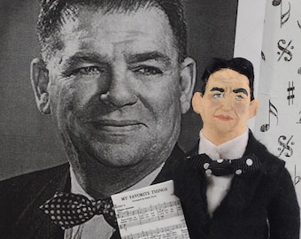 Oscar Hammerstein, Doll Miniature, Musical Composer, Gift for Music Lover, Richard Rodgers