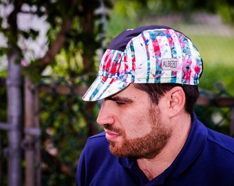 "Cycling cap « FloW ArT"" /Limited Edition/ 5 panel / 2e collection"