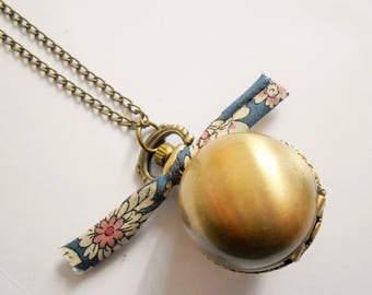 pocket watch necklace - watch necklace - ball watch necklace - watch pendant - liberty necklace - watch jewelry