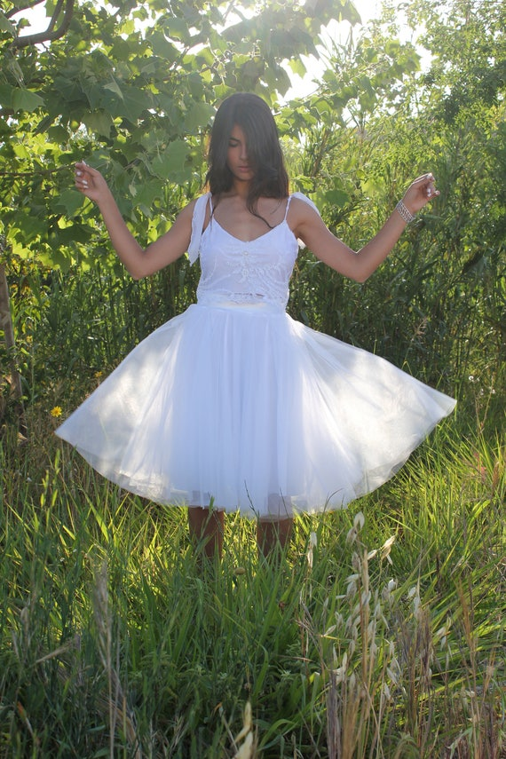 Wedding Bohemian Dress Wedding Beach Wedding White Top Wedding Dress Boho Wedding Tulle Dress Dress Crop Dress Dress Gown Wedding dnRqqPOW