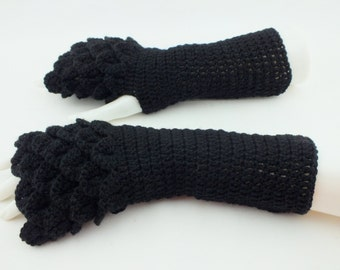 Dragon Gloves-Fingerless gloves - Arm warmers