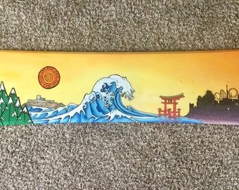 Custom Painted Snowboard