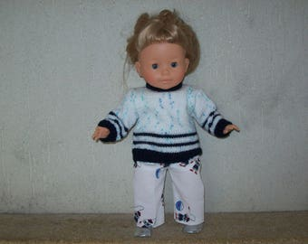 clothes for dolls from 36 cm, with vanilla, sailor outfit