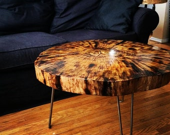 Live Edge Coffee Table by Arbortech