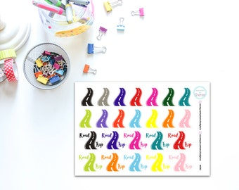 Road and Road Trip Planner, Penpal and Journalling Stickers HBS0102