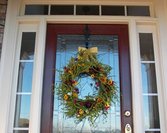High Quality Spring Wreath Spring Wreaths For Front Door Spring Door Wreaths Easter  Wreath