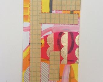 "Original Flashcard Painting ""14-0"""
