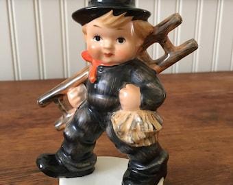Hummel, Vintage Chimney Sweep Goebel M.I. Hummel Figurine, KF40