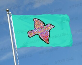 """Widespread Panic """"Medicine Bird"""" Flag - Vendors, Festivals, Tailgating, Businesses, Bands, Clubs, Teams, Weddings, Parties"""