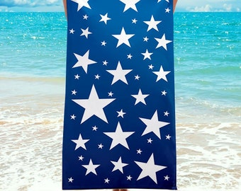 NEW!!! Star Spangled Oversized Beach Towel. Perfect for 4th of July!