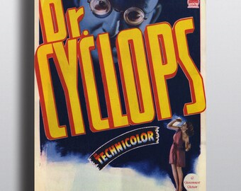 Dr. Cyclops - Vintage Movie Poster Sci-Fi Horror Print