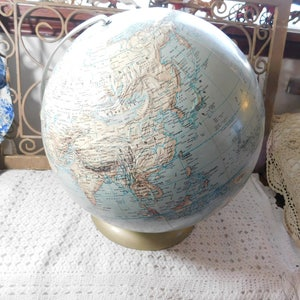 Merveilleux Rand McNally Political Globe, World Globe, Home Schooling, Vintage Home  Decor, Vintage