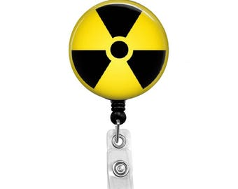 Nuclear Medicine 1 - Badge Reel Retractable ID Badge Holder