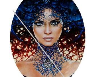 0.79 x 1.19 inch, pretty goddess, fairy, energy
