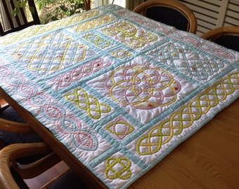 Free as a bird Celtic quilt