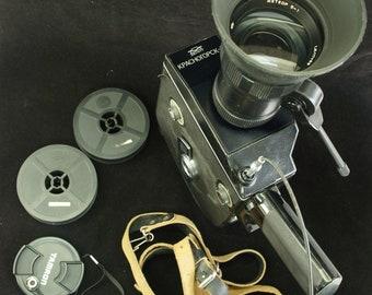 Krasnogorsk-3 16mm Movie Camera, Lens Meteor 5-1 17-69 mm M42