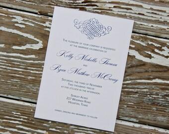 Wedding Invitations - Kelly