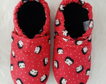 Betty Boop Soft Sole Shoes