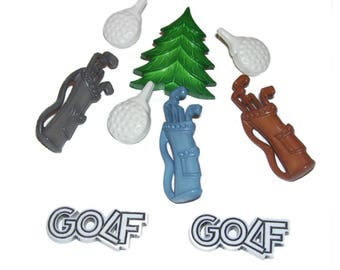 Golf Theme Buttons