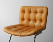 Very rare original Mid Century leather chair model Unesco RH-304 of De Sede. Design by Robert Haussman