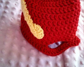 """A """"Flash"""" inspired mask hat"""