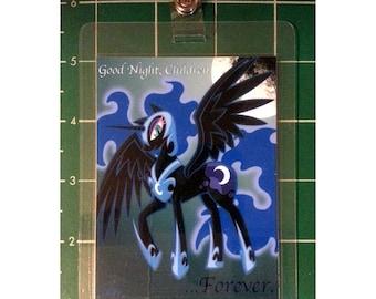 "My Little Pony 3x4"" Laminated Badge, Nightmare Moon"