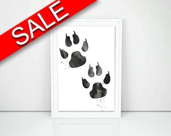 Wall Art Bear Paw Digital Print Bear Paw Poster Art Bear Paw Wall Art Print Bear Paw Living Room Art Bear Paw Living Room Print Bear Paw