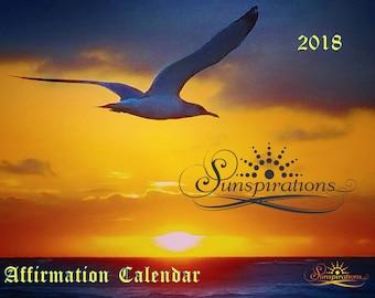 2018 13 MONTH AFFIRMATIONS CALENDAR