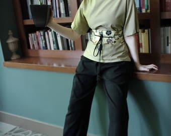 Boxy Shirt Tan -versatile -the plain part of Plain & Fancy