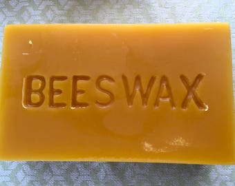 1 Pound Pure Beeswax Block