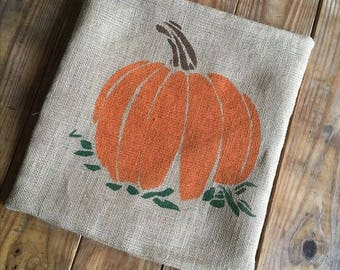 Pumpkin Pillow, Pumpkin Decor, Halloween Pillow, Thanksgiving Pillow, Fall Decor, Throw Pillow, Home Decor, Accent Pillow, Autumn Pillow