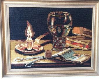Tapestry Still Life Vintage